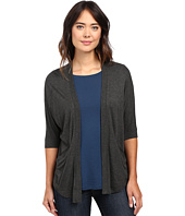 Lilla P - Liquid Terry Dolman Sleeve Open Cardigan