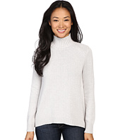 Lilla P - Cotton Cashmere Novelty Stitch Turtleneck