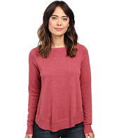 Lilla P - Cotton Modal Raglan Sleeve Swing Sweater