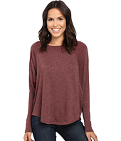 Lilla P - Peached Knit Easy Scoop Neck Raglan