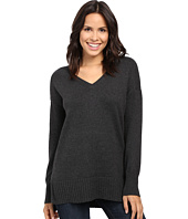 Lilla P - Cotton Cashmere V-Neck Tunic