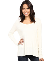 Lilla P - Fine Rib Long Sleeve Swing Top