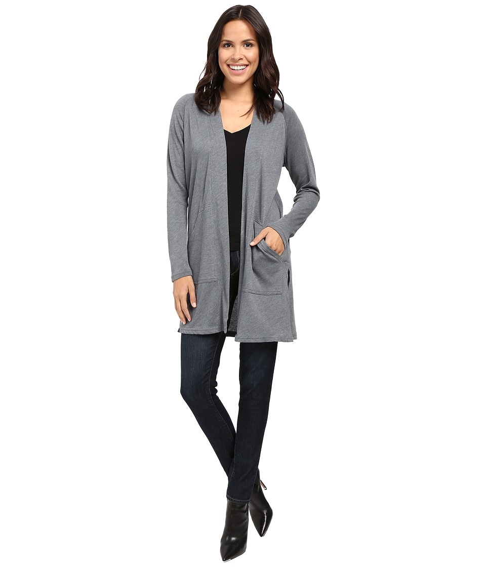 Lilla P - Peached Knit Long Sleeve Duster
