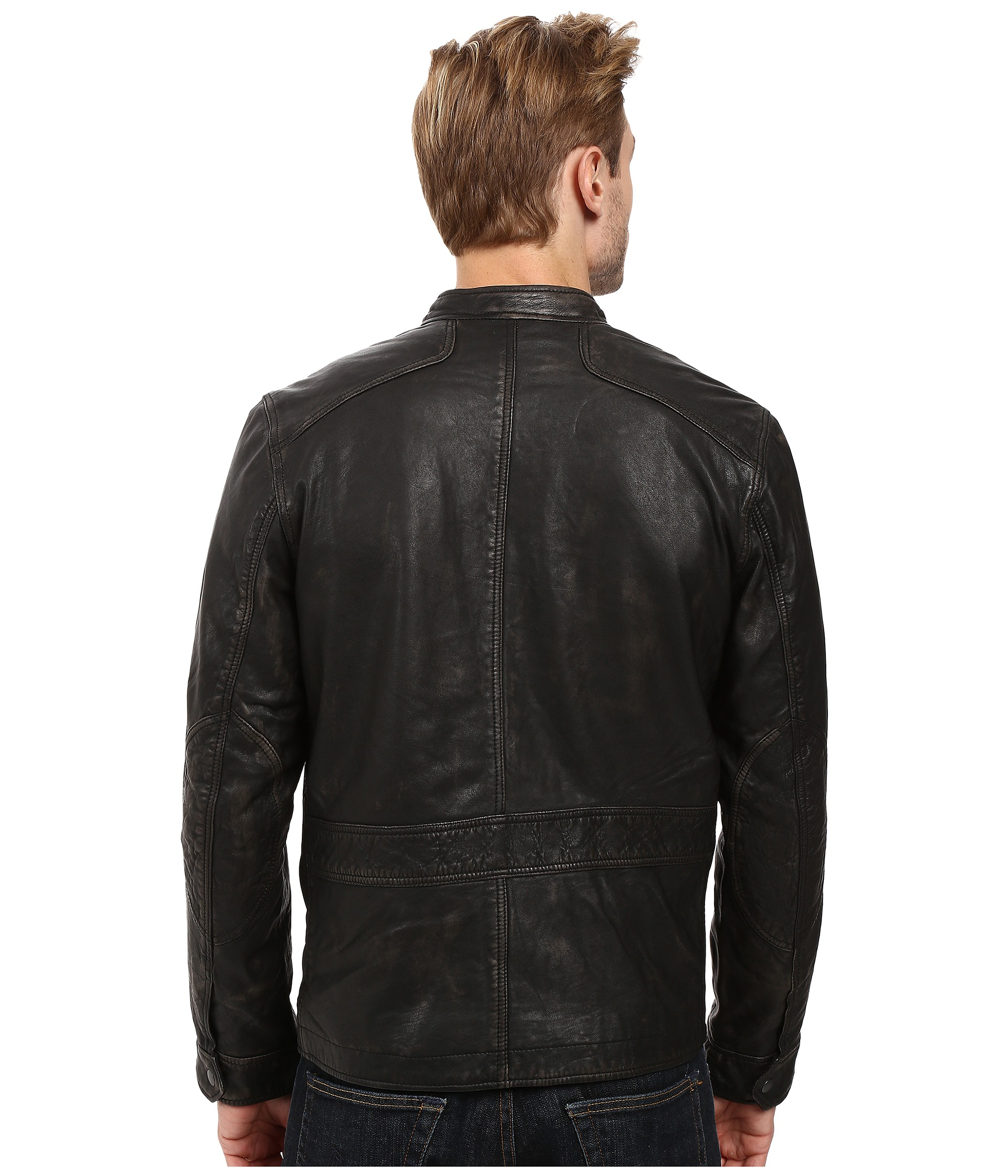 how to clean leather jacket after long ride