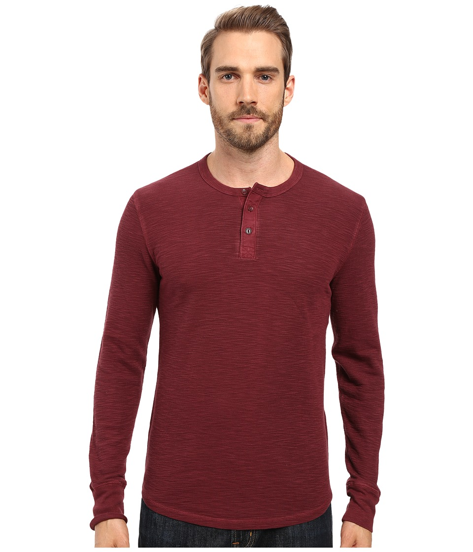 Lucky Brand - Thermal Henley (Port Royale) Men