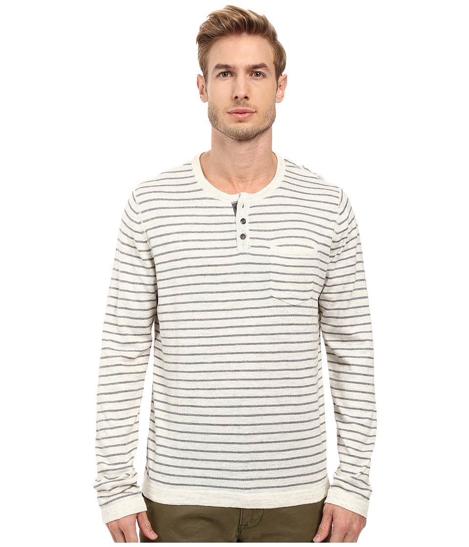 Lucky Brand Fine Gauge Henley (Multi) Men