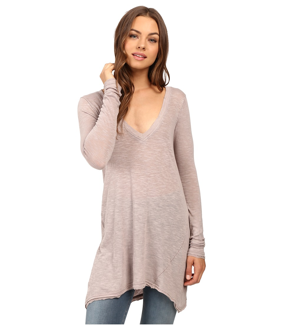 Free People Anna Tee (Taupe) Women