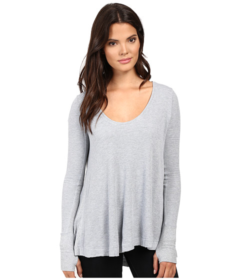 Free People - Malibu Thermal (Silver) Women's Clothing