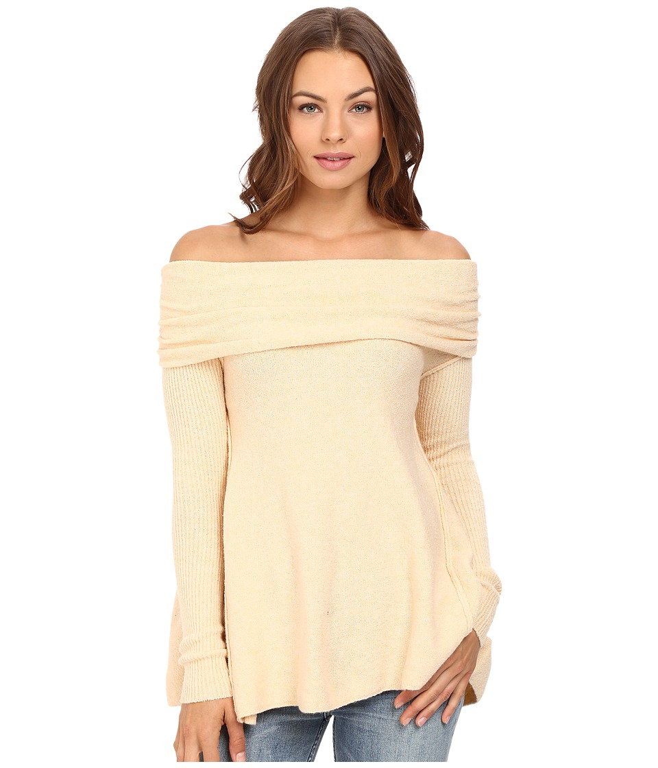 Free People - Strawberry Fields Off the Shoulder Sweater (Cream) Women