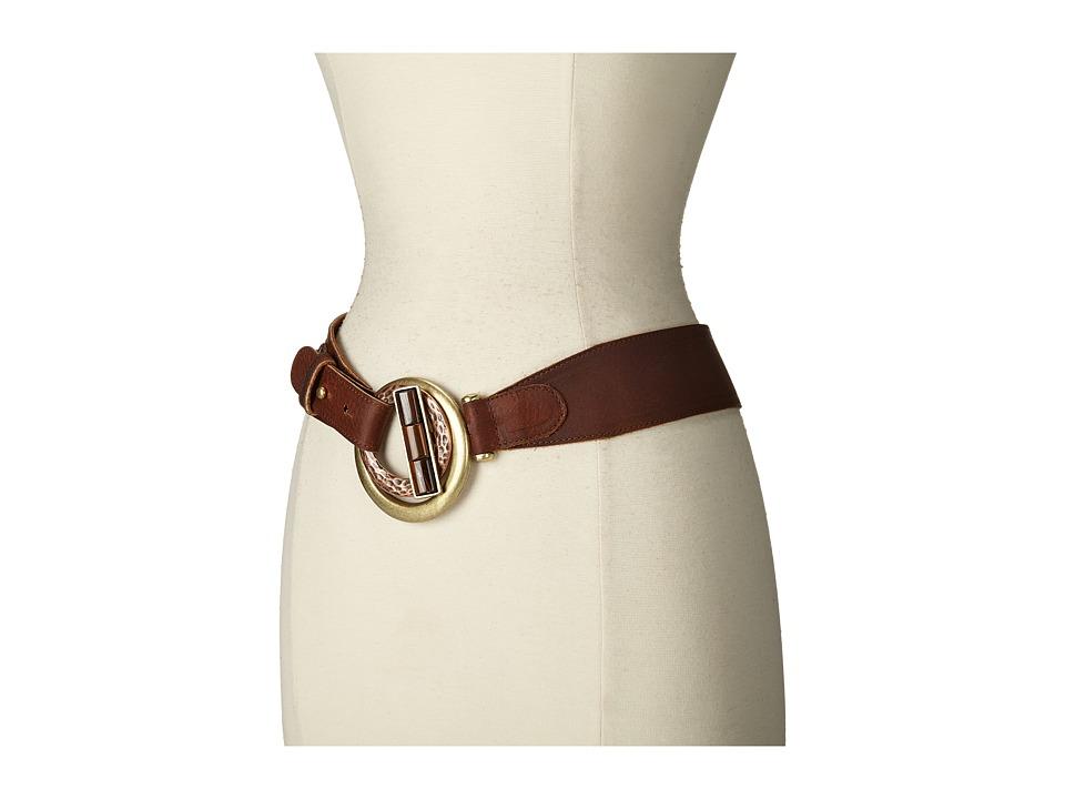 Leatherock 1527 (Pullup Brown) Women's Belts