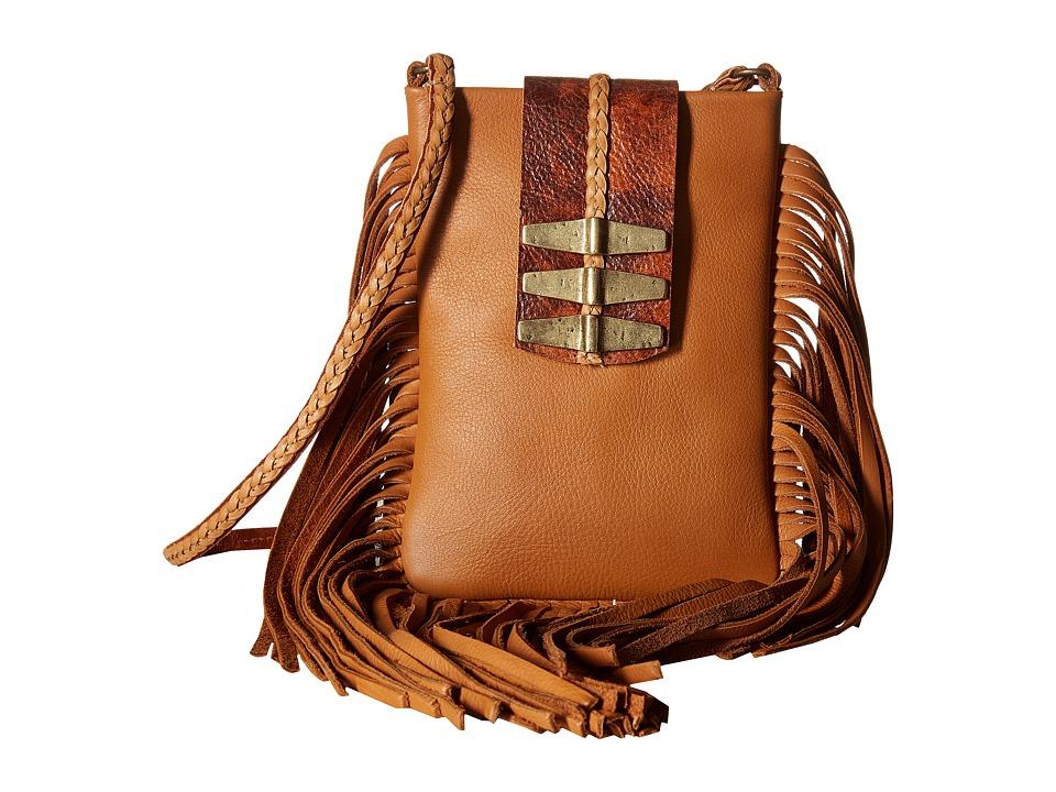 Leatherock - CP92 (Dallas Tan/Dakota Cognac) Handbags