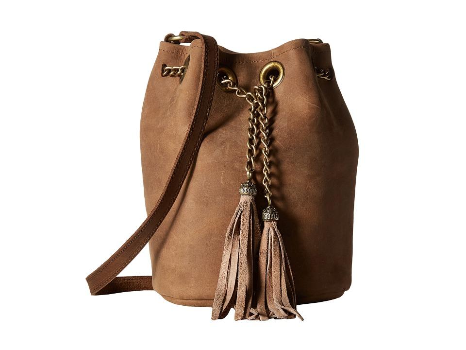 Leatherock - HJ95 (Rough Brown) Handbags