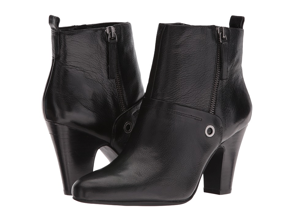 Nine West Gowithit (Black Leather) Women