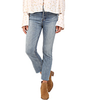 Free People - Far from Any Road Cropped Jeans in Denim Blue