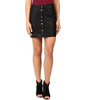 Free People - Oh Snap Mini Vegan Leather Skirt