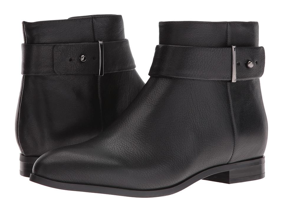 Nine West Objective (Black Leather) Women