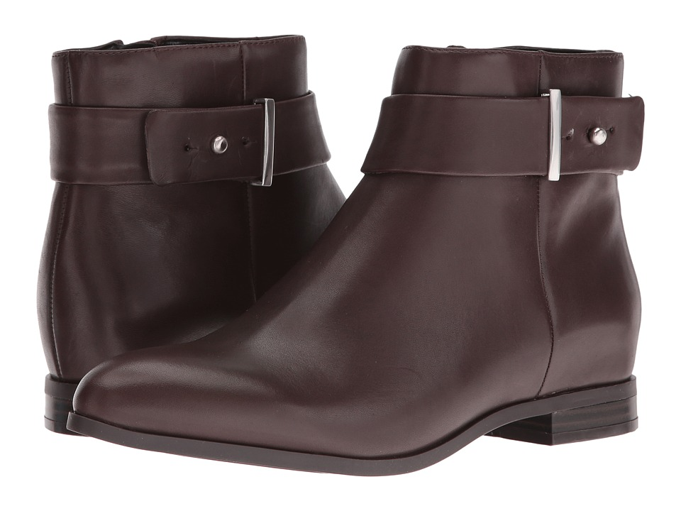 Nine West Objective (Dark Brown Leather) Women