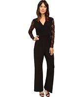 Tahari by ASL - Lace Sleeve Jumpsuit