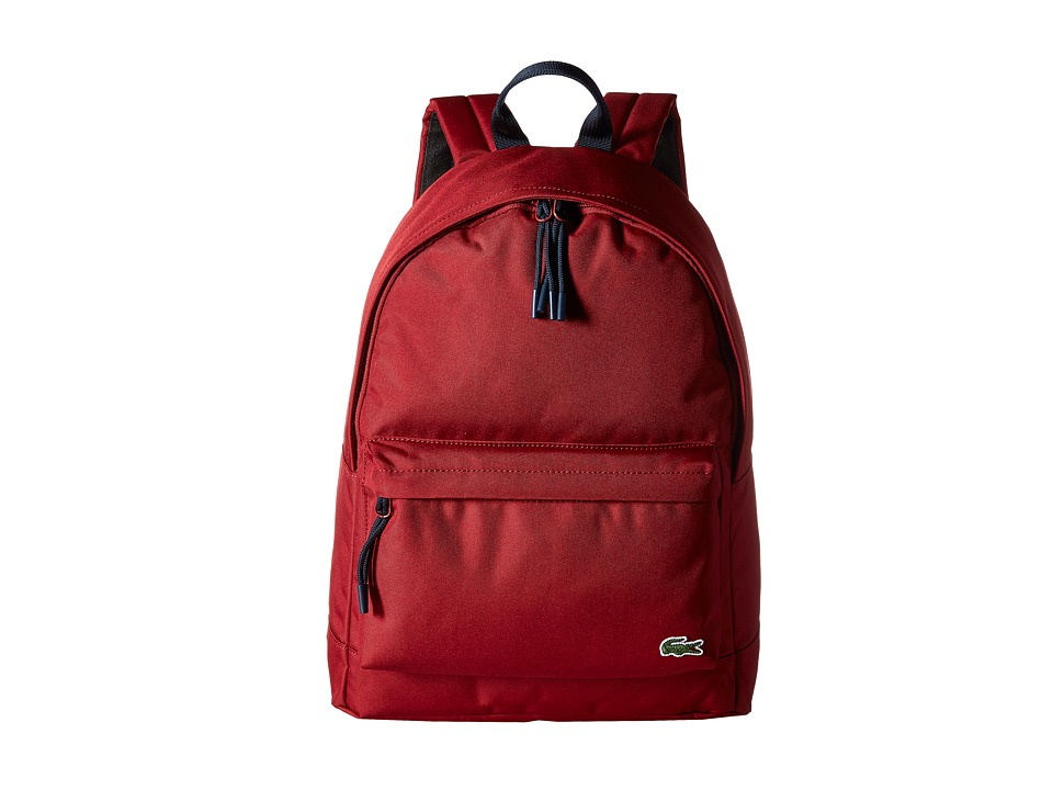 Lacoste - Neocroc Backpack (Rio Red) Backpack Bags