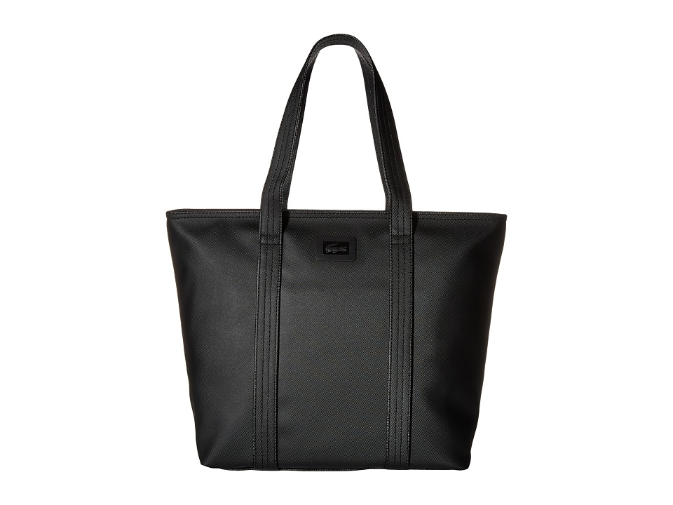 Lacoste - Classic Medium Tote (White) Tote Handbags