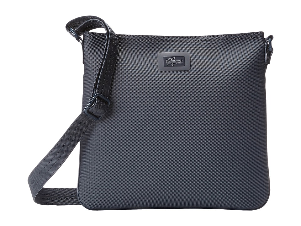 Lacoste - Classic Flat Crossover Bag (Fusion/Light Grey Jasper) Cross Body Handbags