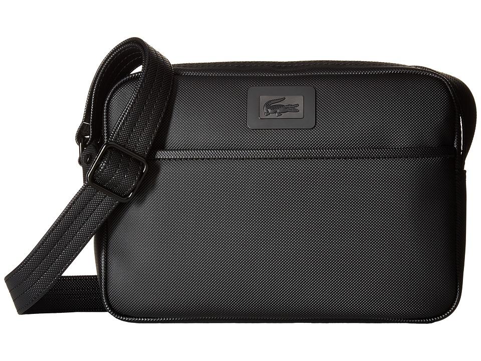 Lacoste - Classic Small Crossbody (Black Iris) Cross Body Handbags
