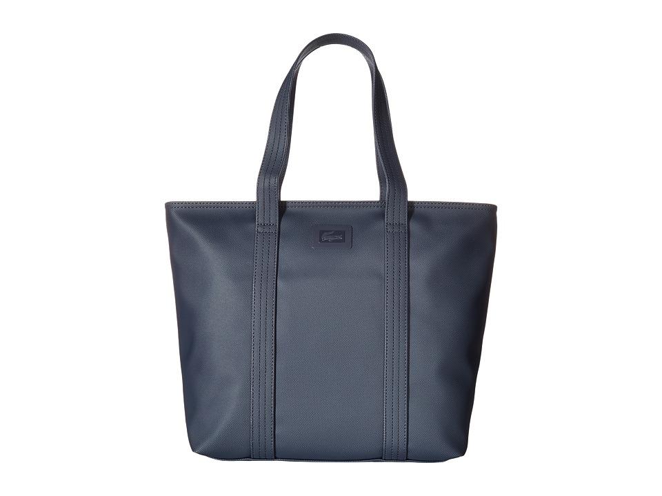 Lacoste - Classic Medium Tote (Black) Tote Handbags