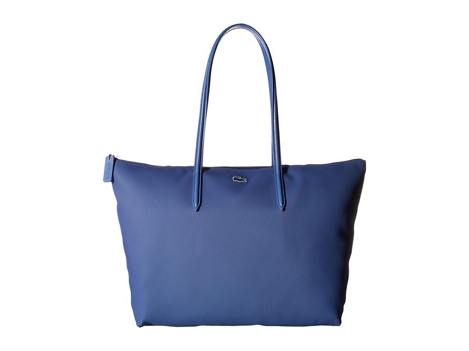 Lacoste - L.12.12 Concept Large Shopping Bag (Dutch Blue) Tote Handbags