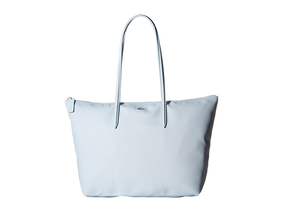 Lacoste - L.12.12 Concept Large Shopping Bag (Dream Blue) Tote Handbags
