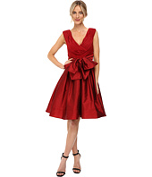 Adrianna Papell - Draped Top Fit and Flare Dress