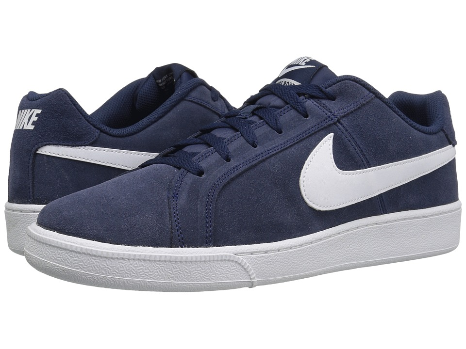 Nike Court Royale Suede (Midnight Navy/White) Men