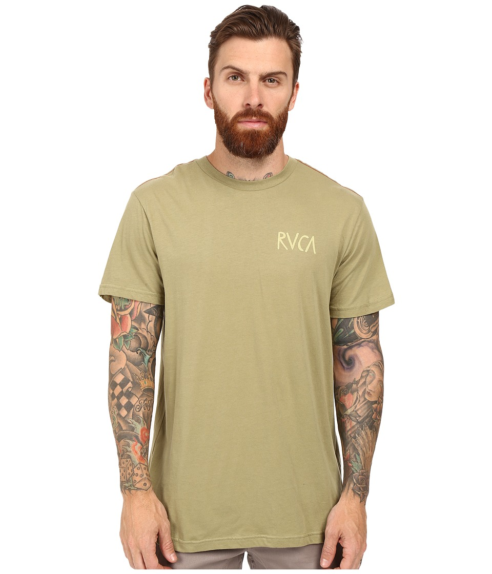 RVCA - Flip Flop Box T-Shirt (Cadet Green) Men