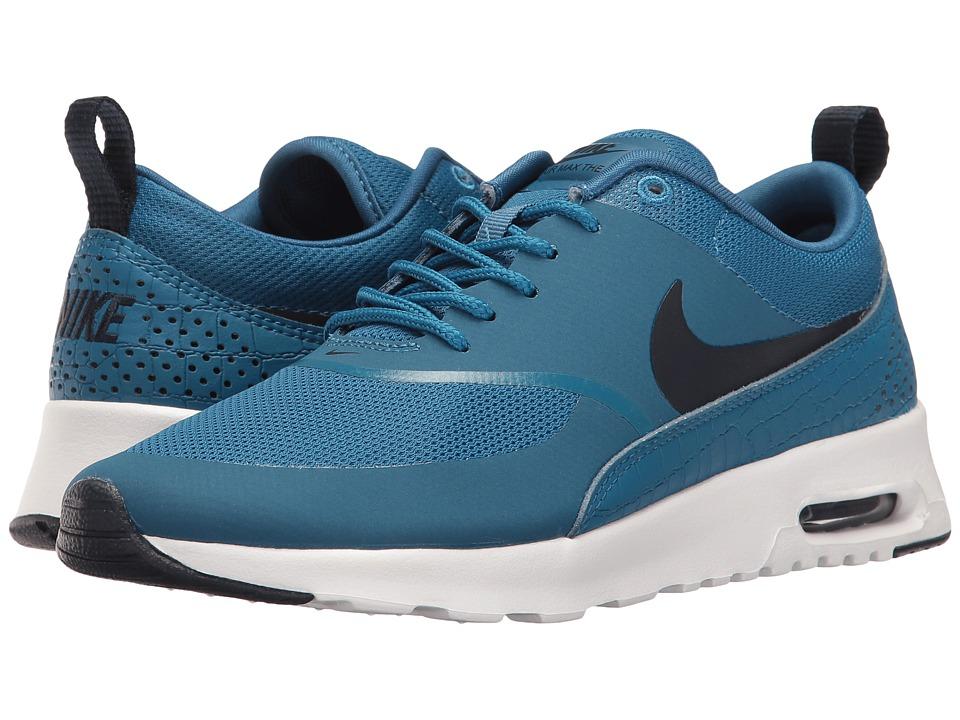 Nike - Air Max Thea (Industrial Blue/White/Obsidian) Womens Shoes