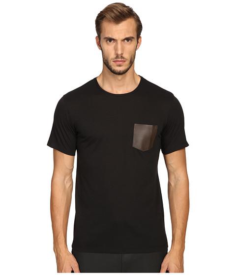 The Kooples Jersey Pocket T-Shirt - Black