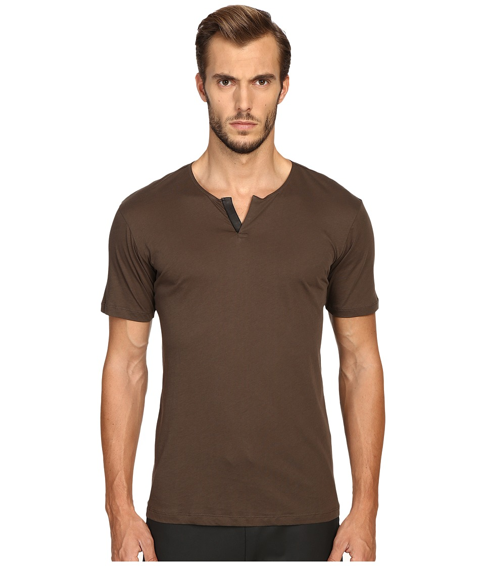 The Kooples - Cotton Leather T