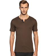 The Kooples - Cotton & Leather T-Shirt