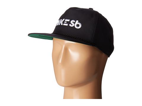 Nike SB Aerobill Dri-Fit Cap - Black/Pine Green/Black/White