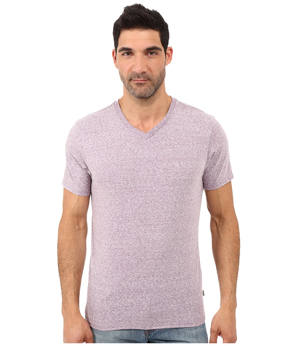 Threads 4 Thought - Baseline Tri-Blend V-Neck Tee (Lavender) Mens T Shirt