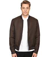 The Kooples - Grosgrain Placket Bomber Jacket