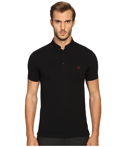 The Kooples Sport Fitted Officer Collar Polo