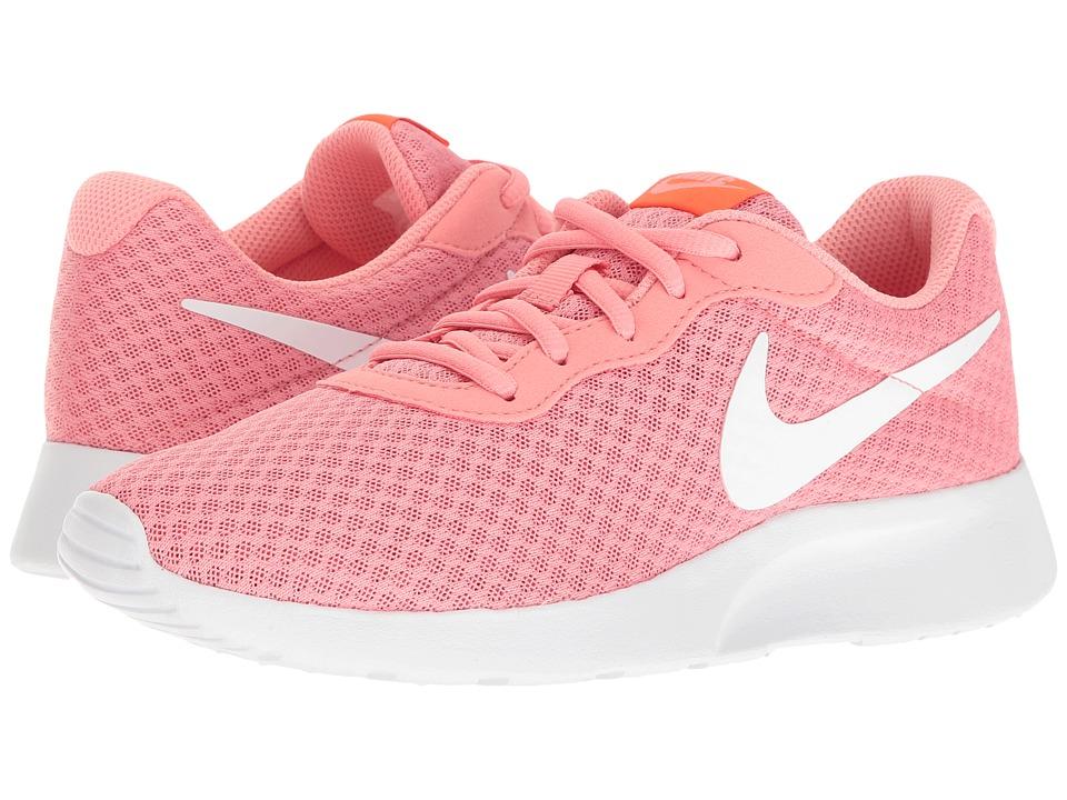 Nike - Tanjun (Lava Glow/Total Crimson/White) Womens Running Shoes