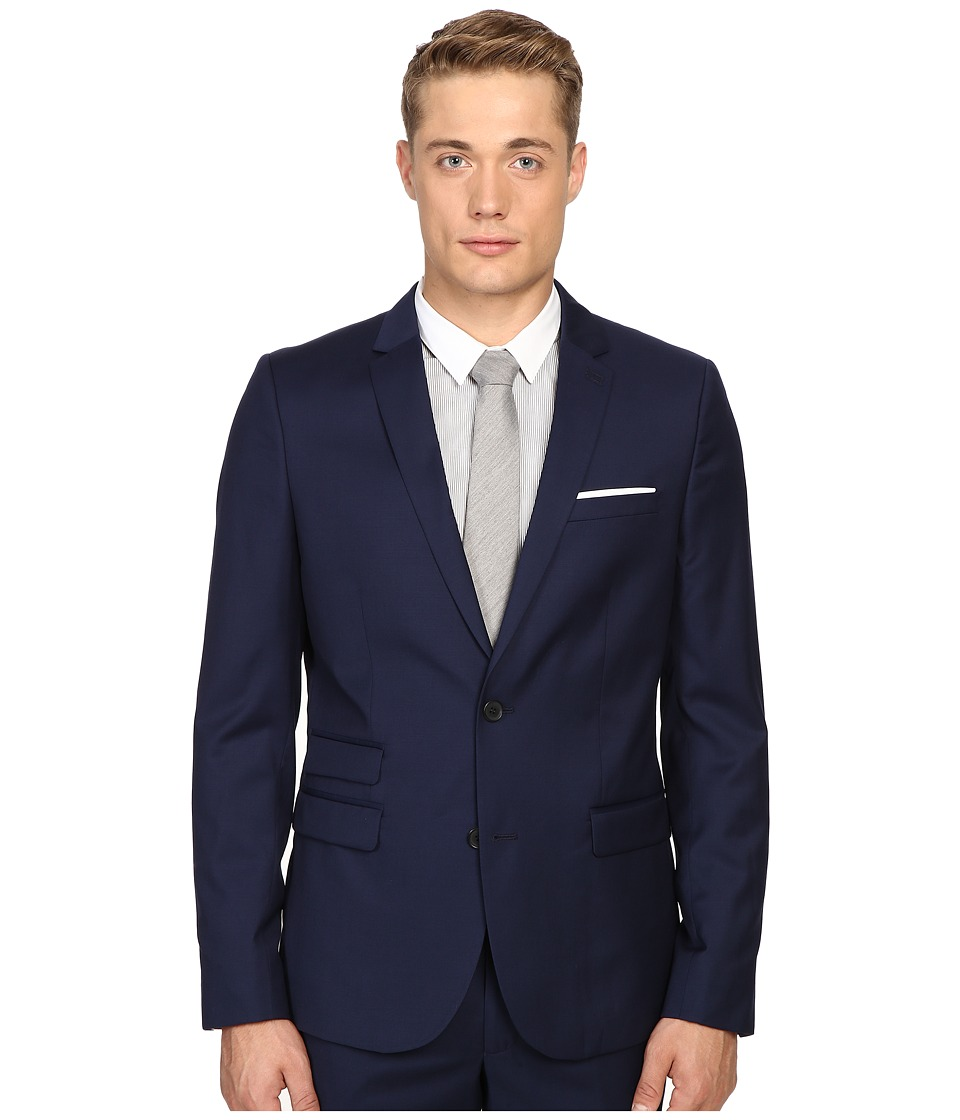 The Kooples - Fitted Suit Jacket w/ Pocket Square
