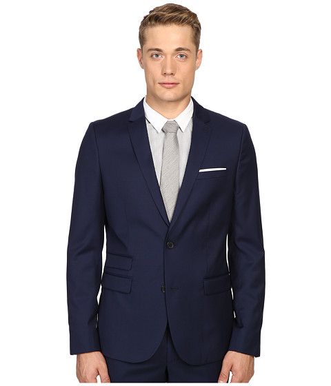 The Kooples Fitted Suit Jacket w/ Pocket Square