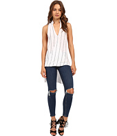 Culture Phit - Sadia High-Low Overlap Tank Top