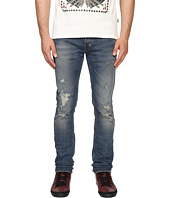 Just Cavalli - Essential Distressed Five-Pocket Denim