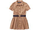 Polo Ralph Lauren Kids Tissue Chino Shirtdress (Toddler)