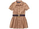 Polo Ralph Lauren Kids Tissue Chino Shirtdress (Little Kids)
