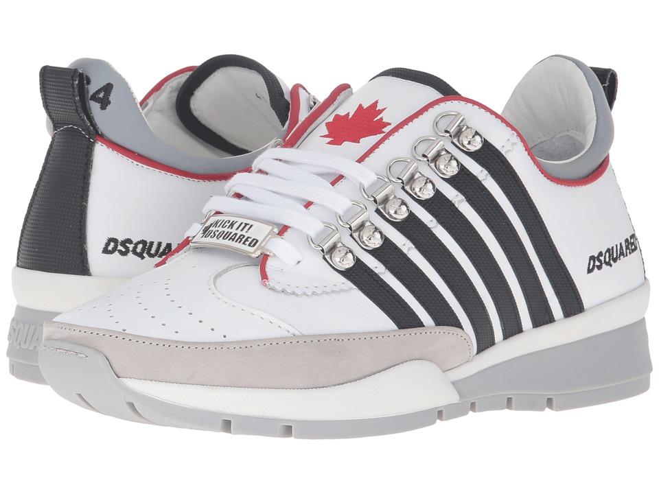 DSQUARED2 251 Sneaker (Bianco Nero) Men
