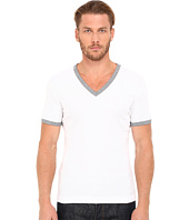 Dolce & Gabbana - Stretch Ribbed Cotton V-Neck