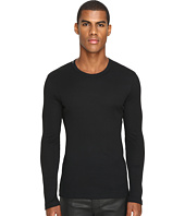 Dolce & Gabbana - Ribbed Cotton R-Neck Long Sleeves